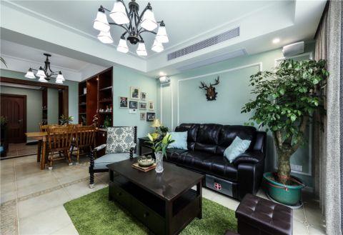 25万预算100平米两室两厅装修效果图