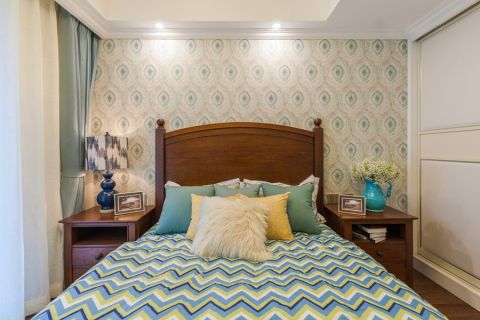 卧室衣柜美式风格装修效果图