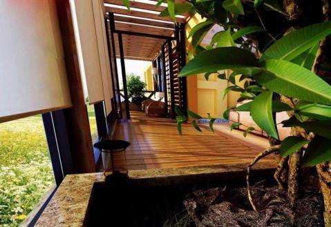 阳台走廊混搭风格效果图