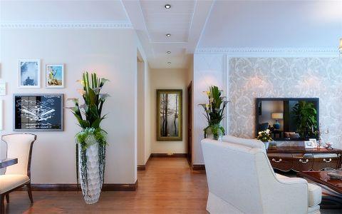 玄关走廊现代简约风格装饰效果图