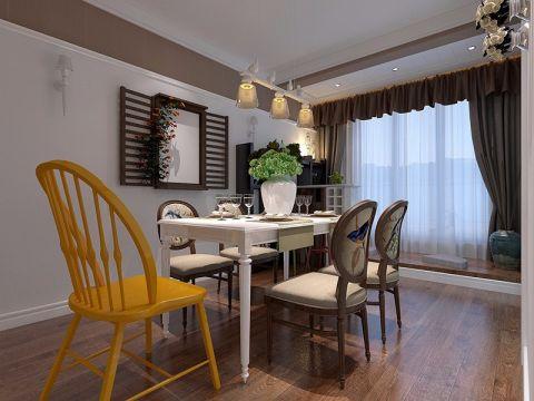 餐厅窗帘简中风格装饰效果图