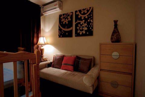 卧室沙发东南亚风格装修图片