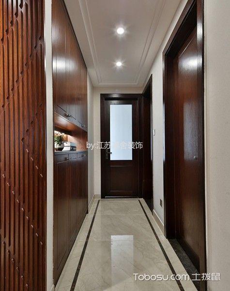 玄关 走廊_3万预算120平米三室两厅装修效果图