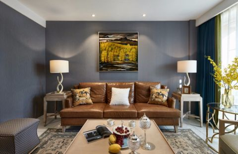 客厅背景墙现代风格装饰效果图