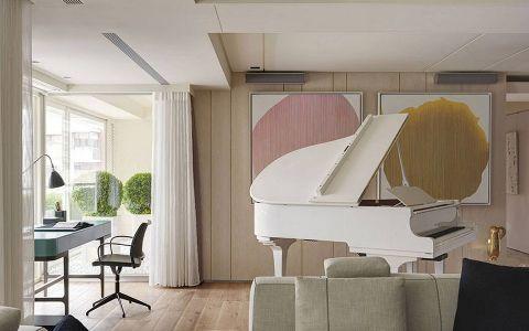 书房吊顶现代简约风格装潢图片