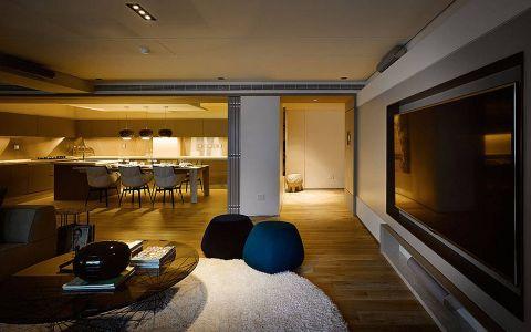 客厅走廊现代简约风格装饰设计图片