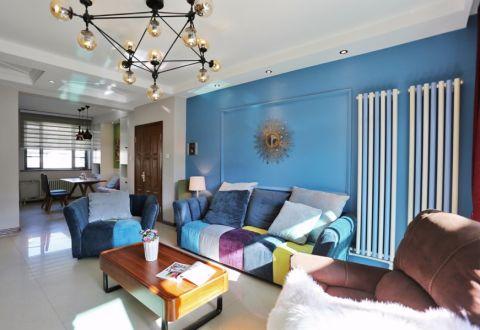 8.4万预算100平米三室两厅装修效果图