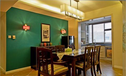 13.2万预算160平米四室两厅装修效果图