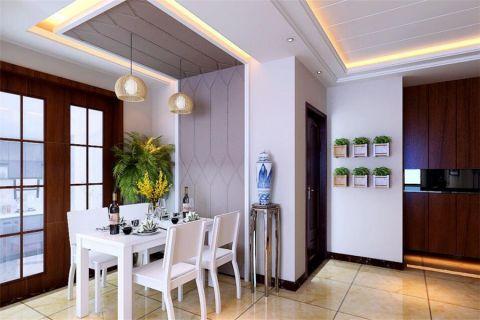 餐厅推拉门现代简约风格装潢设计图片