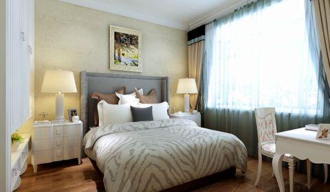 卧室床头柜简欧风格装饰图片