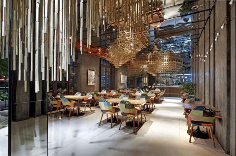 音乐餐厅简单装修效果图