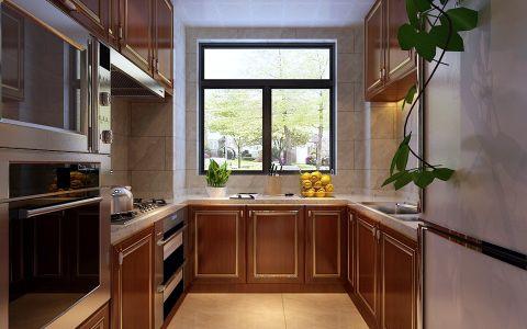 厨房窗台中式风格装修图片