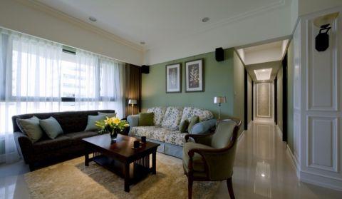 10.6万预算100平米三室两厅装修效果图