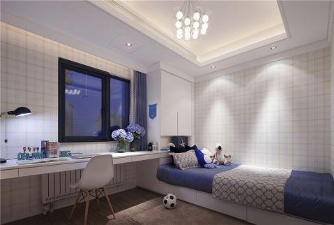 10万预算135平米三室两厅装修效果图