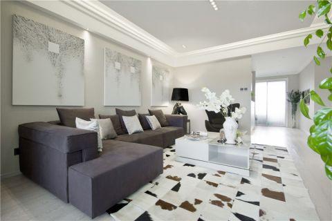 现代风格115平米3房2厅房子装饰效果图
