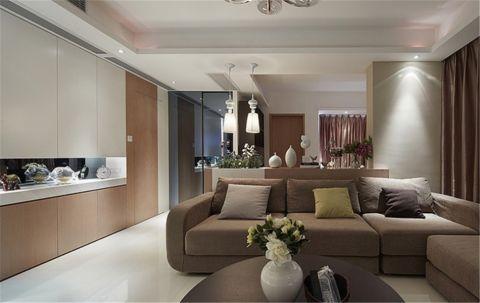 12万预算115平米三室两厅装修效果图