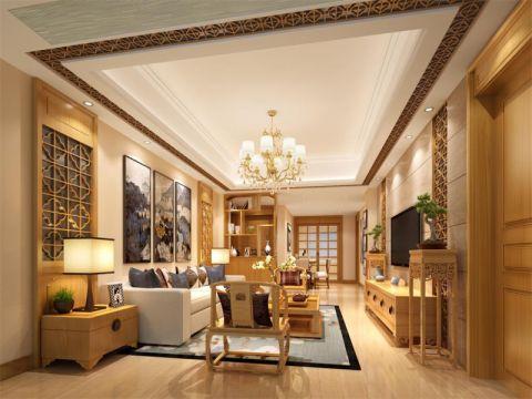 25万预算160平米四室两厅装修效果图