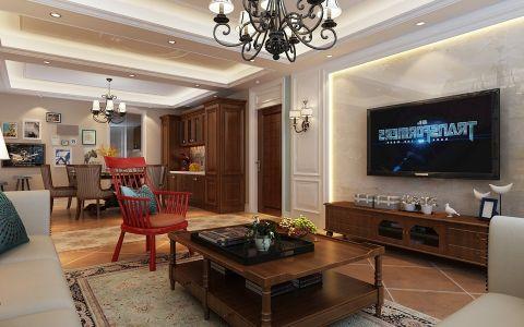 7万预算170平米三室两厅装修效果图