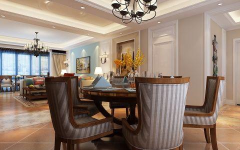 餐厅餐桌美式风格装修效果图