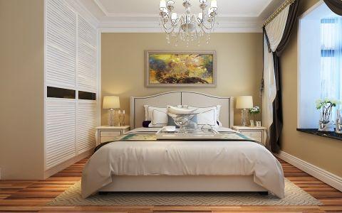 卧室衣柜美式风格装饰效果图