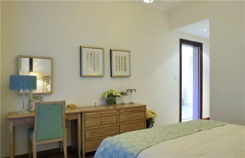 卧室梳妆台美式风格效果图