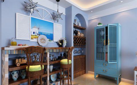 客厅吧台地中海风格装修图片