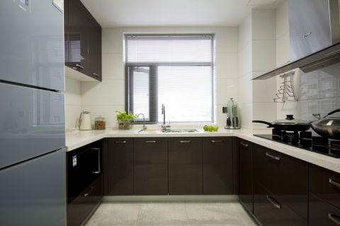 厨房背景墙简约风格装修效果图