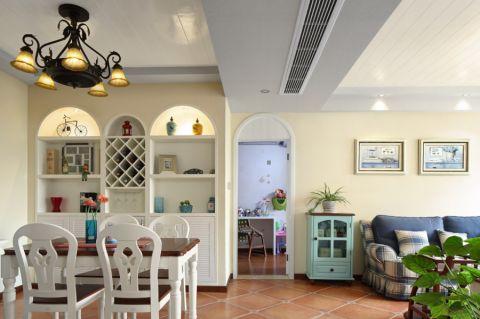 餐厅吊顶地中海风格装饰图片