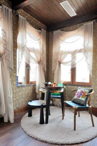 卧室窗帘欧式风格效果图