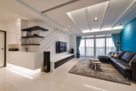 6.3万预算100平米三室两厅装修效果图