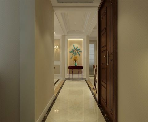 玄关走廊简欧风格装饰图片