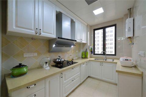 厨房吊顶田园风格装潢图片
