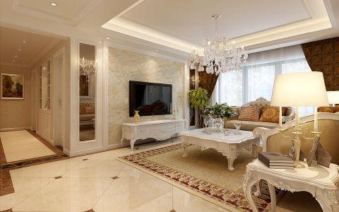 5.2万预算160平米四室两厅装修效果图
