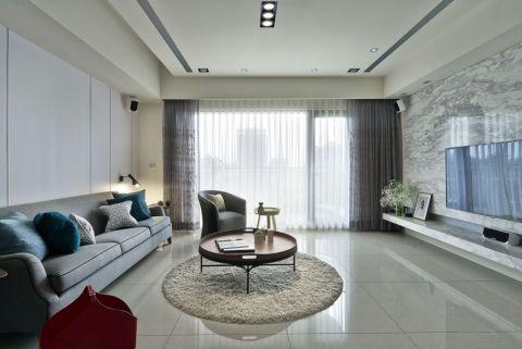 25万预算140平米三室两厅装修效果图