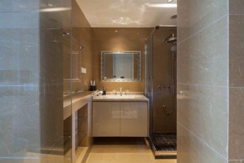 卫生间背景墙韩式风格装修设计图片