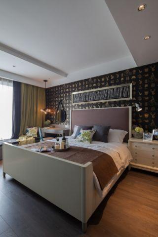 卧室窗帘韩式风格效果图