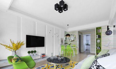 2万预算100平米两室两厅装修效果图