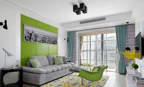 阳台窗帘田园风格装饰设计图片