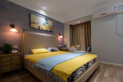 卧室窗帘韩式风格装饰效果图