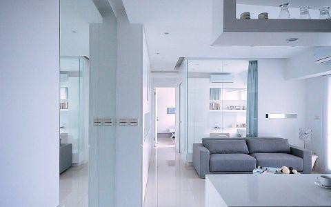 10万预算80平米两室两厅装修效果图