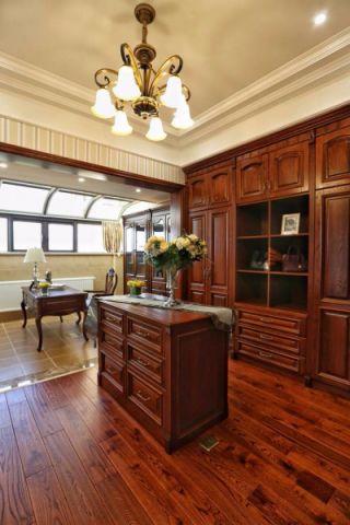 书房吊顶新古典风格装潢图片