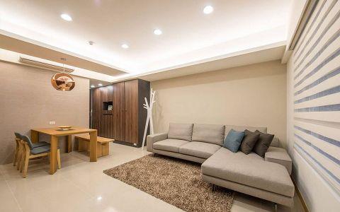 15万预算100平米两室两厅装修效果图