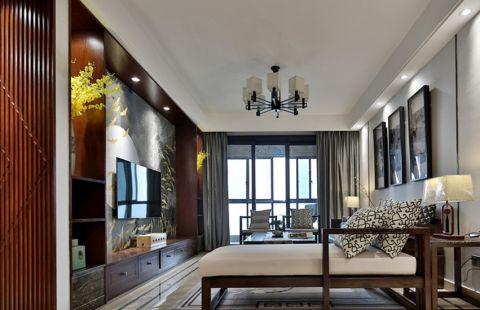 3万预算120平米三室两厅装修效果图