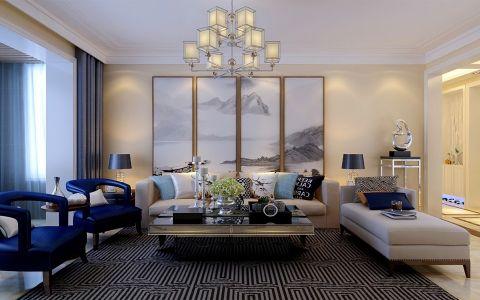4万预算150平米三室两厅装修效果图