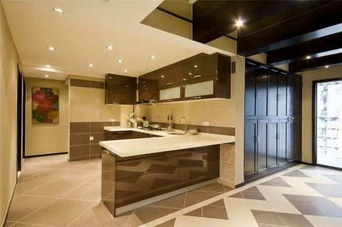 厨房吊顶简欧风格装修效果图