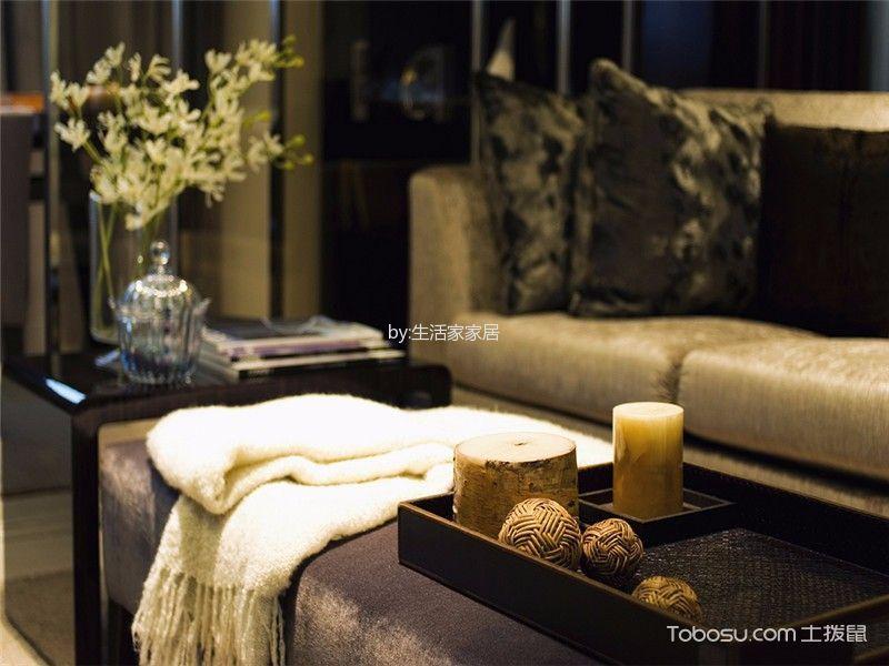 客厅黑色细节现代风格装潢图片