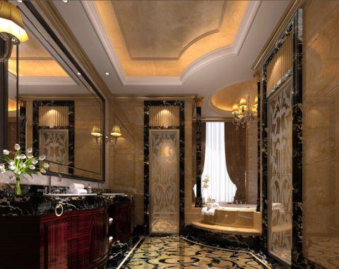 卫生间吊顶欧式风格装修图片