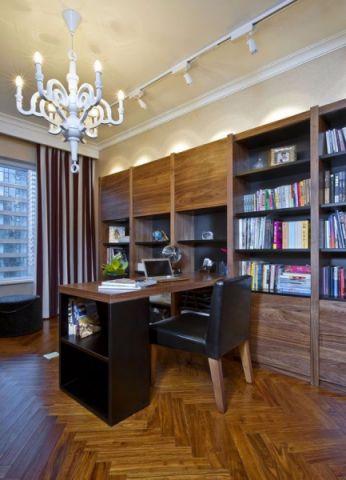 书房书架新古典风格装修效果图
