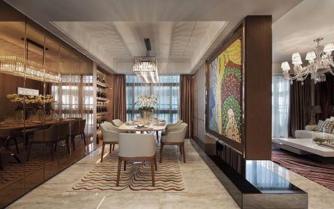 餐厅隔断现代风格装饰效果图