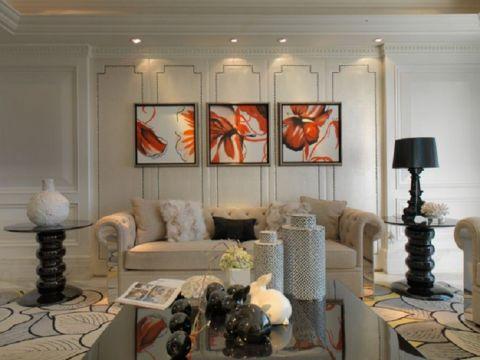 12万预算140平米三室两厅装修效果图